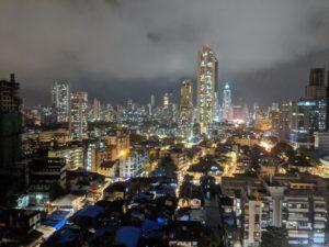 Mumbai Night City View